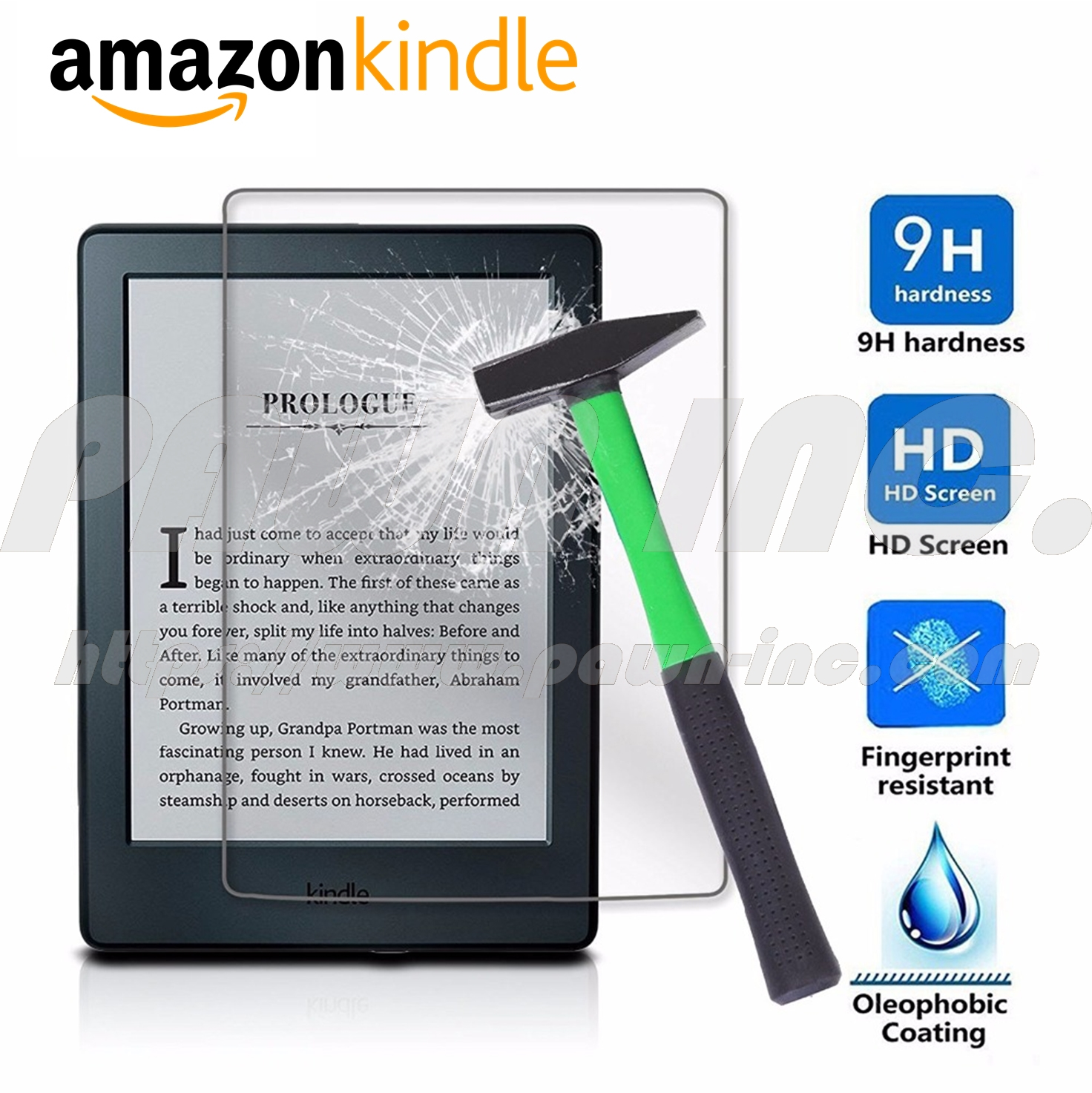Kindle Matte Tempered Glass
