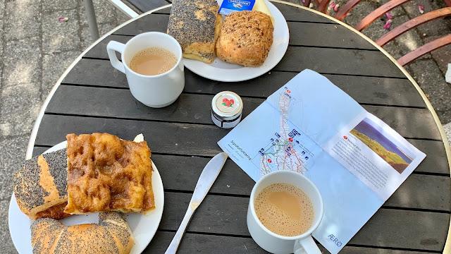 Finns bageri i Søby, horn og brunsviger
