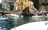 private boating in Amalfi
