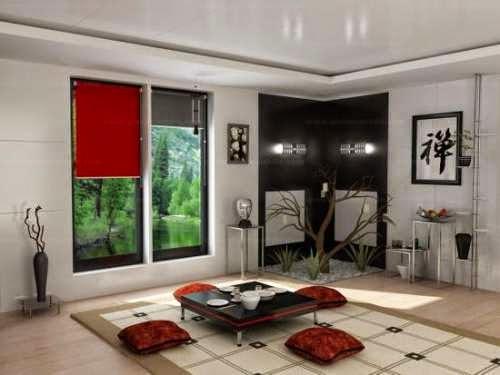 Desain ruang tamu lesehan yang indah dan modern