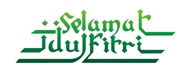 Contoh Gambar Font Ucapan Selamat Idul Fitri Desain Interior