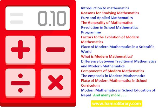 introduction-to-mathematics