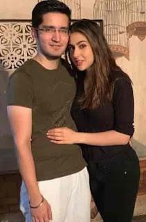 Sara Ali Khan With Jehan Handa