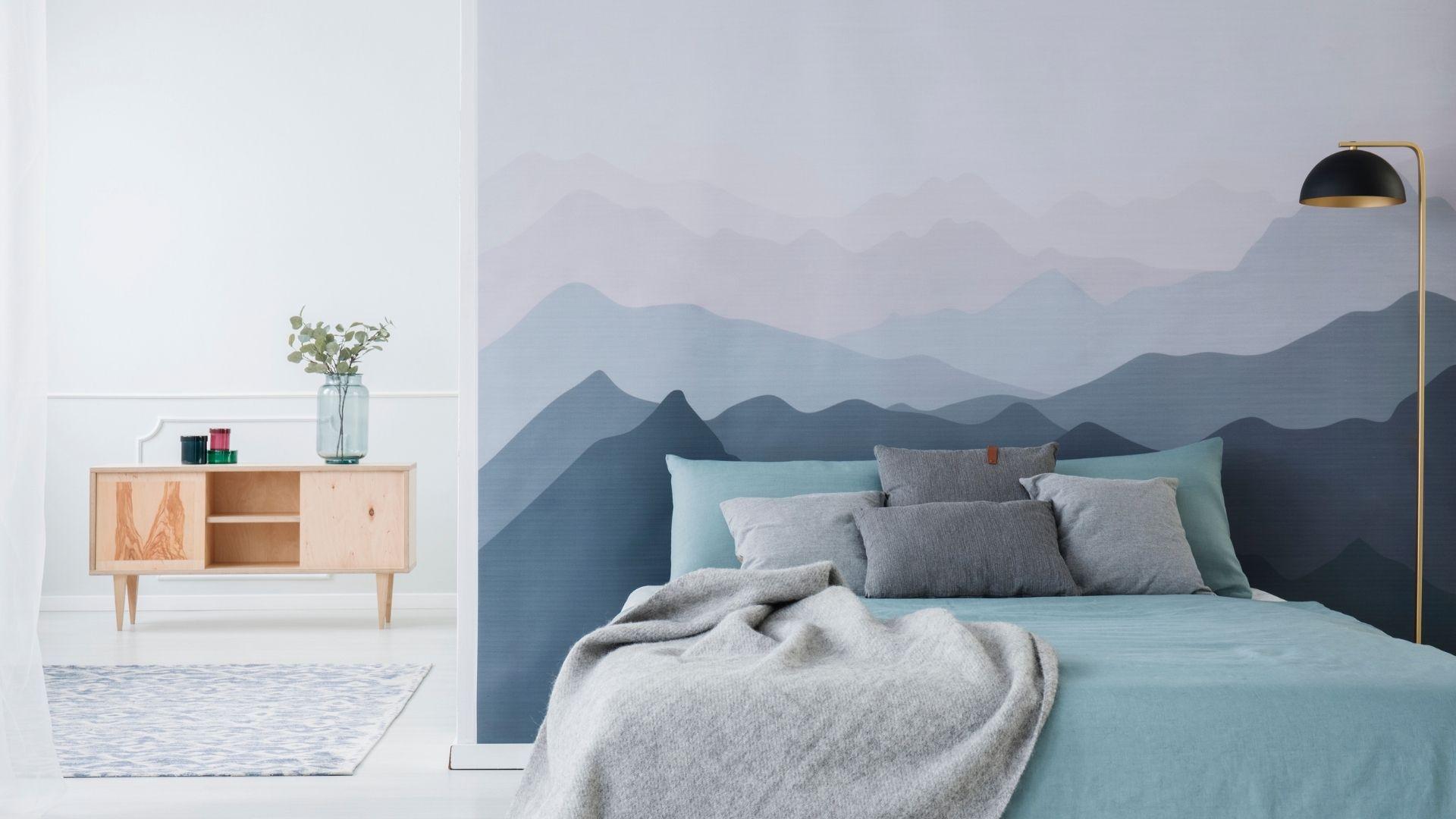 jaki kolor do sypialni z białymi meblami