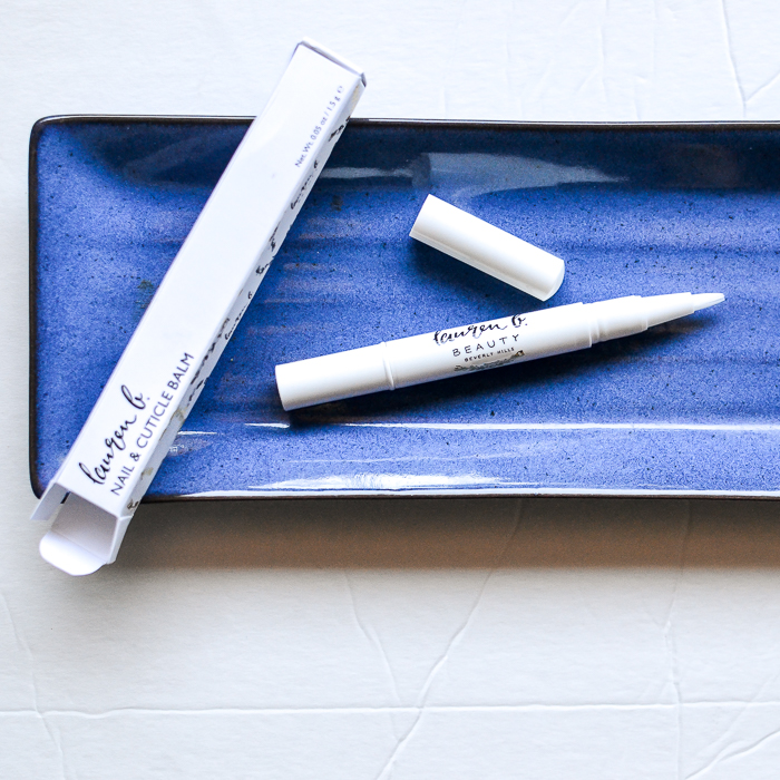 Lauren B Nail Cuticle Balm - Click Pen Brush Applicator - Review