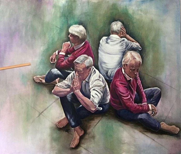 Причудливые и сюрреалистические картины. Conny Roels