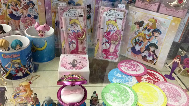 Sailor Moon gadgets and make-up, Miracle Romance by Creer Beauté now at Alastor Napoli comic shop