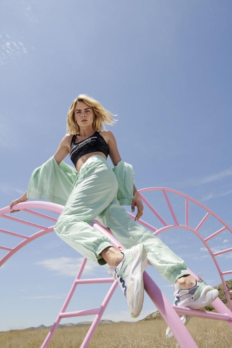 Cara Delevingne appears in PUMA Rise sneaker campaign