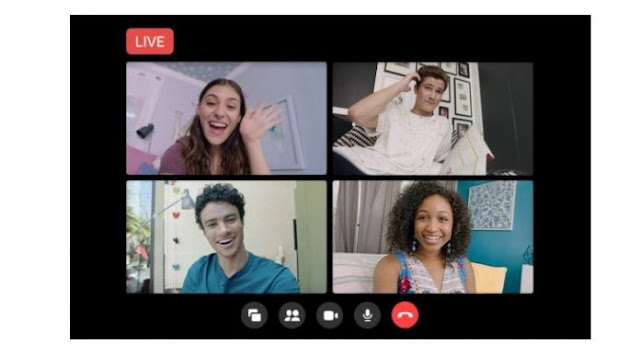 Facebook Messenger Rooms Gets Live Broadcast Feature