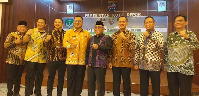 Walikota Ajak Dandim Baru Tingkatkan Kerjasama