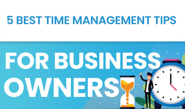 Learn to manage time at your business with the following tips