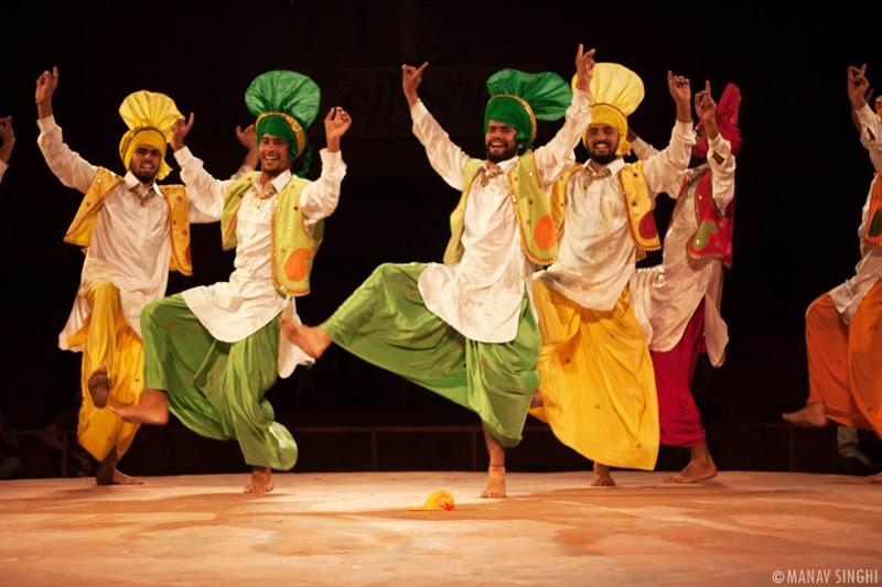 Bhangra from Punjab.
