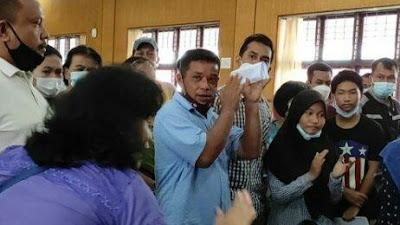 Pendaftaran PPDB Kacau, Ratusan Ortu Murid Geruduk Kantor Disdik Sumut