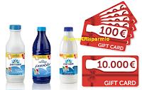 Logo Parmalat ''Alla tua colazione manca qualcosa?'': vinci 350 shoppig card da 100€ e 1 da 10.000€