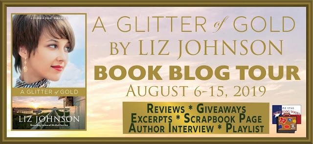 A Glitter of Gold book blog tour promotion banner