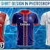 Awesome Football Team Shirts Design in Photoshop cc 2019 Tutorial by M Qasim Ali