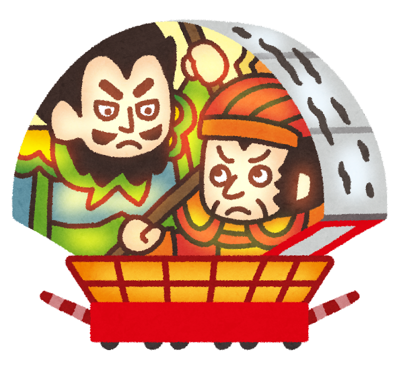 弘前ねぷた祭りの山車のイラスト かわいいフリー素材集 いらすとや