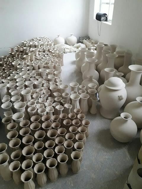Quy trình sản xuất các sản phẩm gốm sứ bát Tràng