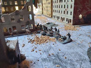 German pioneers flank the objective