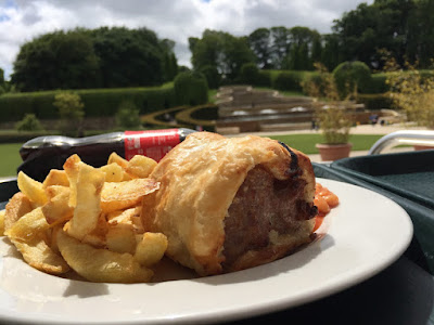 Alnwick garden - homemade al fresco lunch