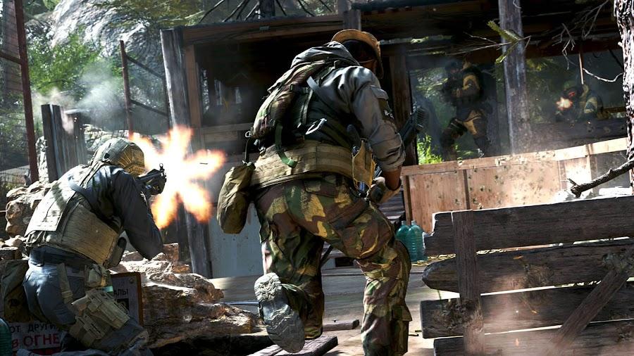 call of duty modern warfare 2v2 multiplayer gameplay 2019 gunfight mode activision infinity ward