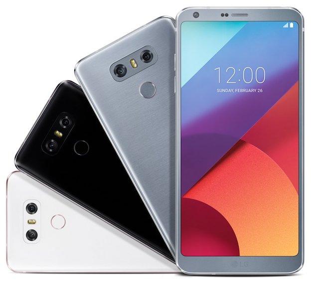 LG G6 terá bordas minimizadas ao máximo, novas cores em cinza, preto e branco