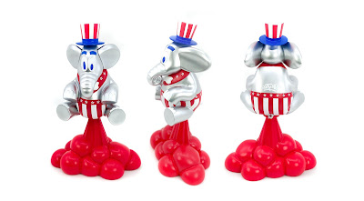 Tenacious Toys Exclusive Ting 'Murica Edition Vinyl Figure by Sket One x 3DRetro