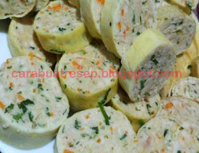 Foto Resep Rolade Daging Sapi dan Ayam Campur Mix Sederhana Spesial Asli Enak
