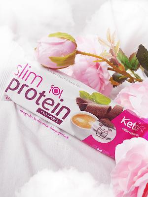 Proteínová tyčinka Slim Proteín Kapučíno KetoFit recenzia