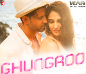 Ghungroo Lyrics Full Song - Arijit Singh - Shilpa Rao (War Movie 2019)