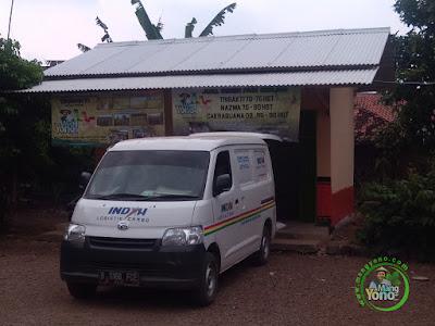 Indah Cargo Pic Up ke warung benih MANGYONOcom