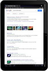 Google Search auf XOOM
