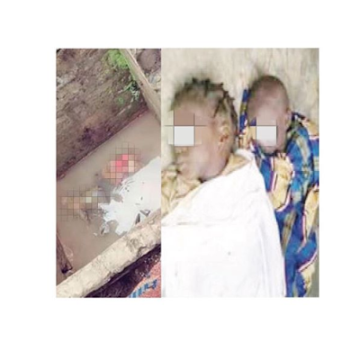 Two kids found dead inside soakaway pit in Kwara
