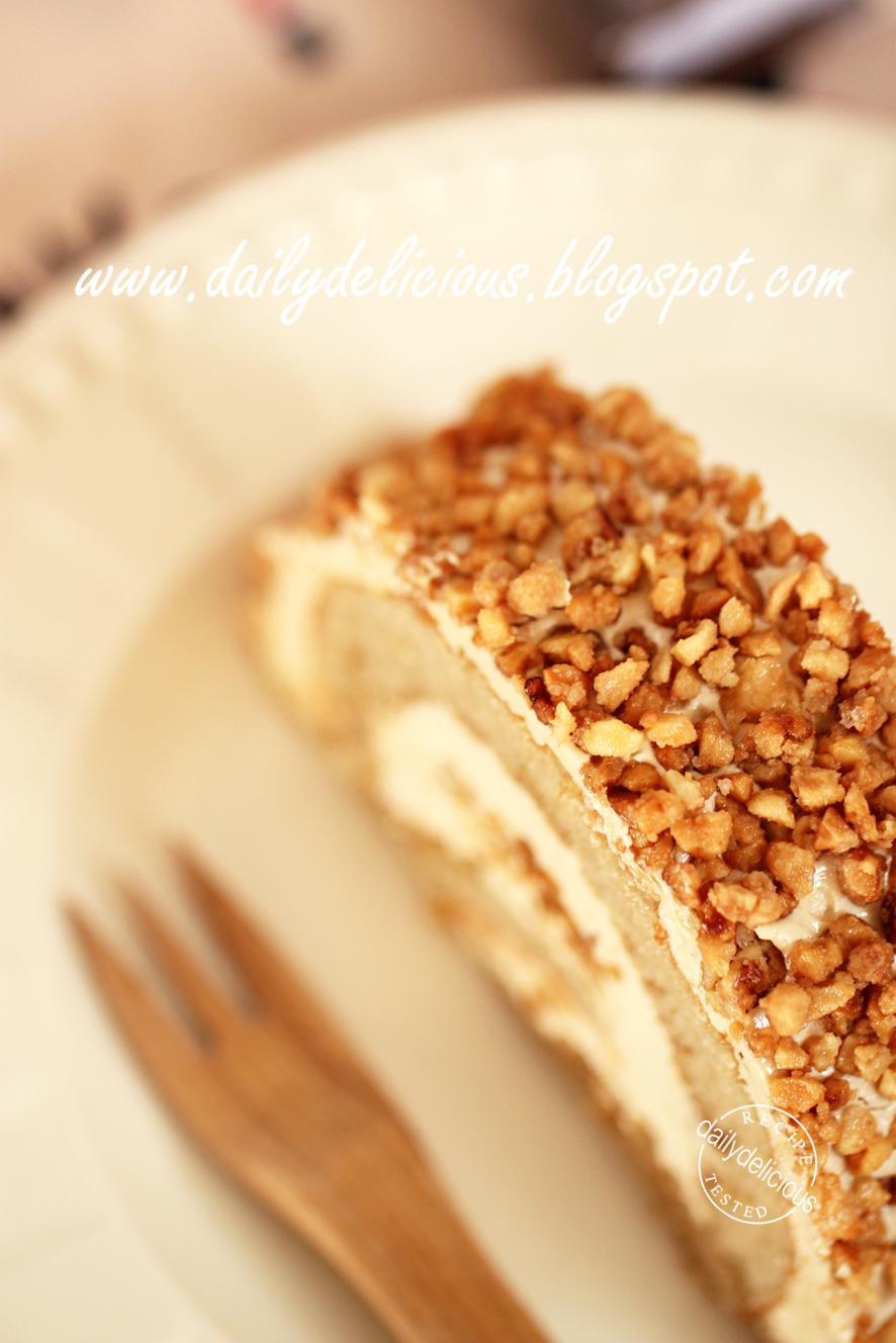 Nut Roll Coffee Cake Recipe