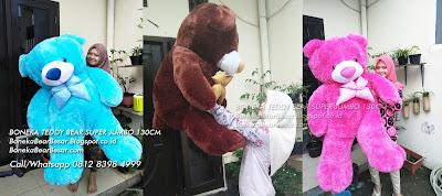 boneka teddy bear super jumbo 130cm
