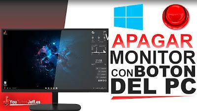 apagar monitor pc