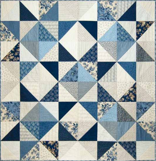 Blue Sky Quilt Free Pattern