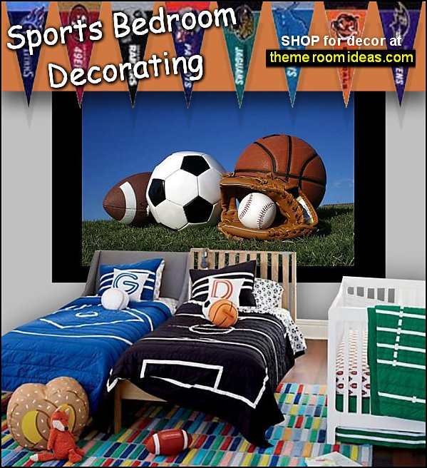 sports bedrooms sports bedding  sports wall mural sports bedroom ideas sports bedroom decor