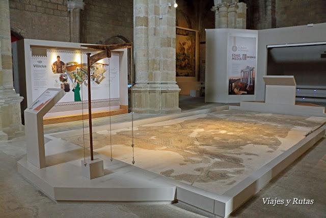 Colegiata de Santa María la Real, medievum, Sasamón, Burgos