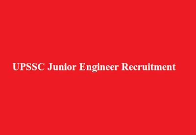 UPSSC Junior Engineer Recruitment 2016