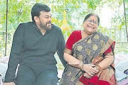 Megastar Tribute to his mother on Mother's Day