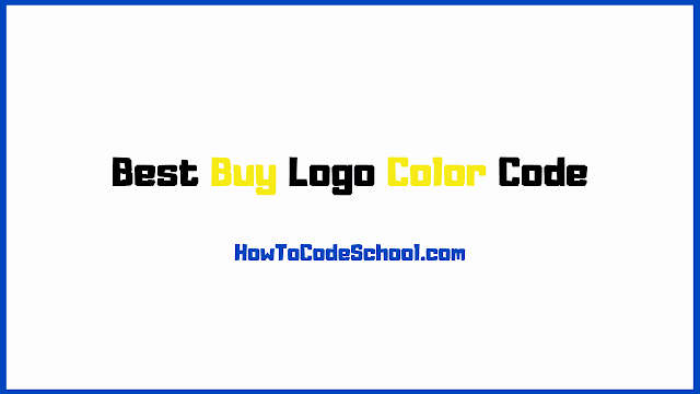 Best Buy Logo Color Code
