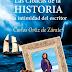 """""""Las cloacas de la historia y la intimidad del escritor"""" de Carlos Ortíz de Zárate"""