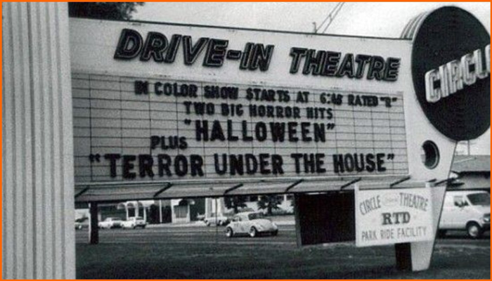 Halloween Drive-In Theater