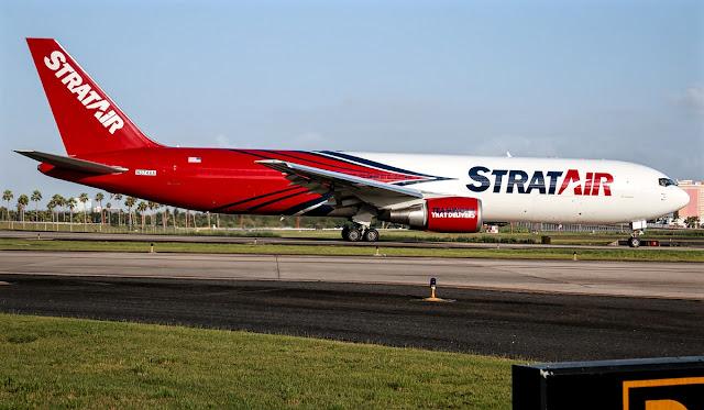 Strat Air Boeing 767-300 Cargo Aircraft