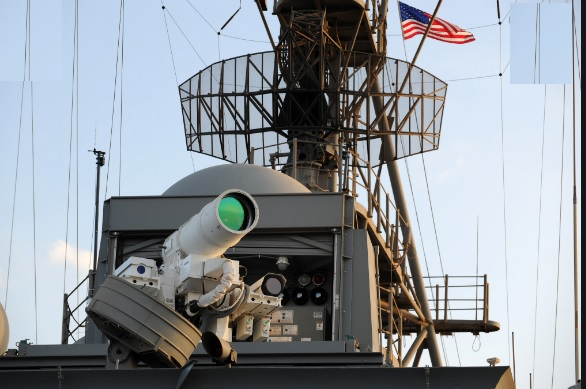 US NAVY successfully test of Laser weapon