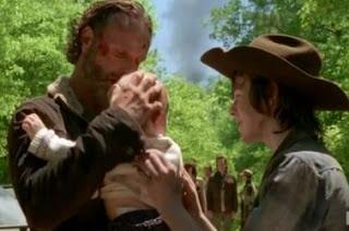 Rick não é o pai de Judith em The Walking Dead