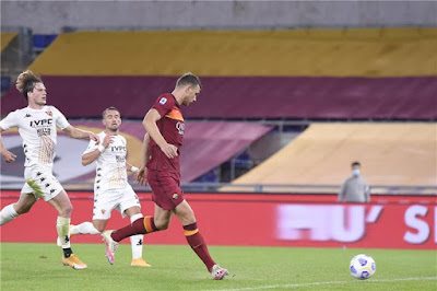ملخص واهداف مباراة روما وبينفينتو (5-2) الدوري الايطالي
