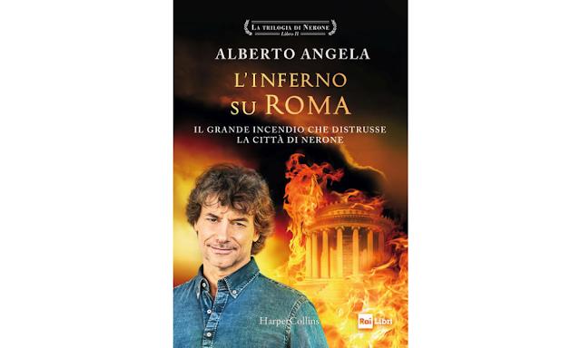 Alberto Angela, copertina di L'inferno su Roma