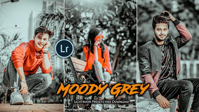 Moody Grey Presets lightroom Presetsfree download | Saha social Presets